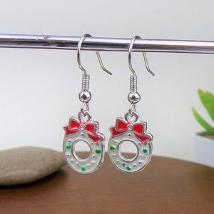 🎄Christmas Wreath Earrings